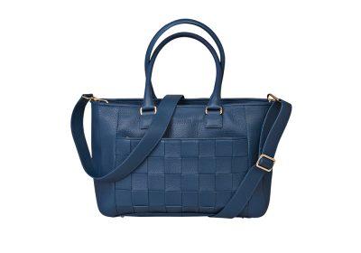 Kontainer Copenhagen Review Aqua Blue Workbag