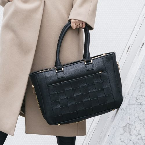 Kontainer Copenhagen Black Love Workbag