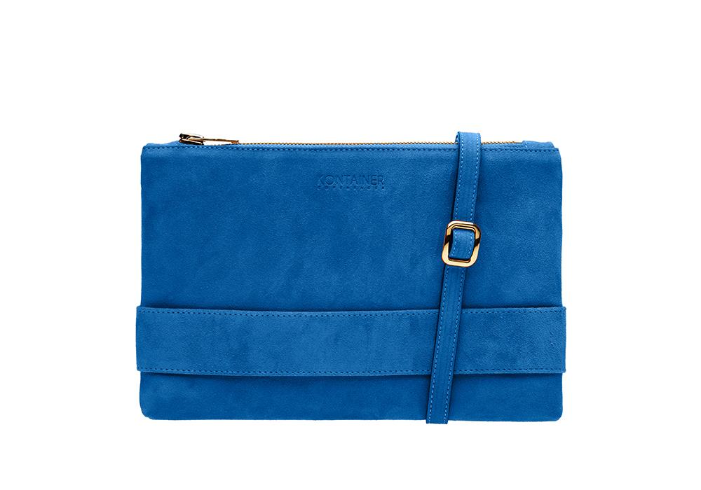 Blue Lagoon Clutch Front