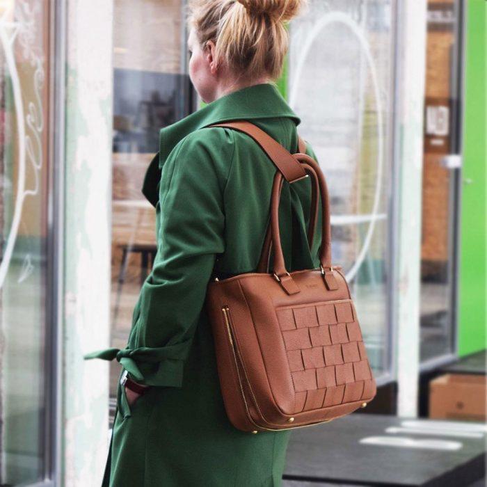 Kontainer Copenhagen Camel Crush Shopper