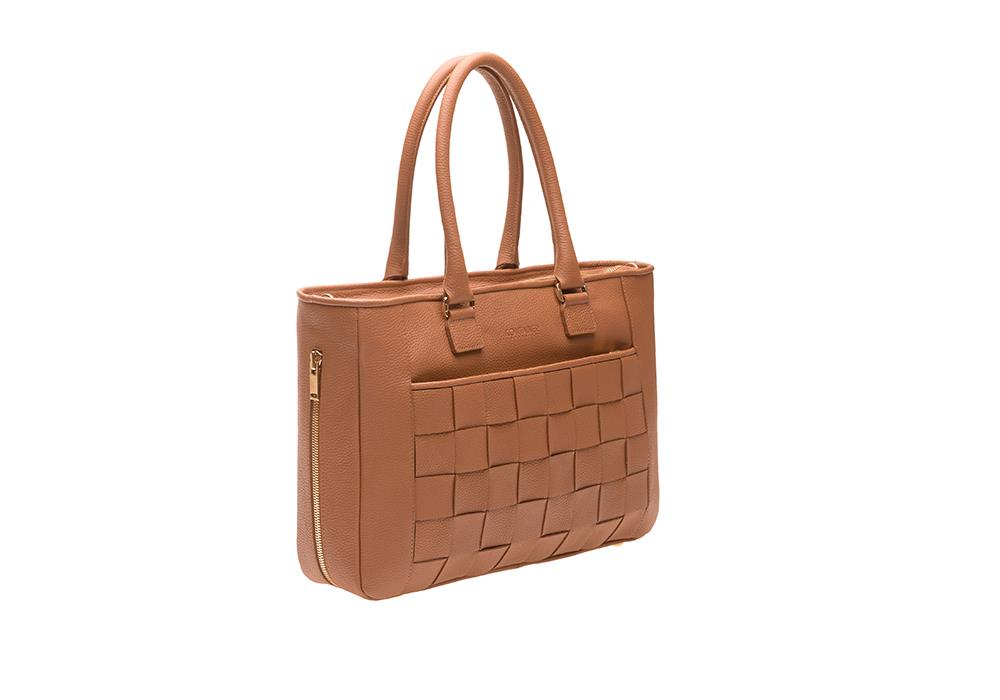 Camel Crush Shopper Sideways