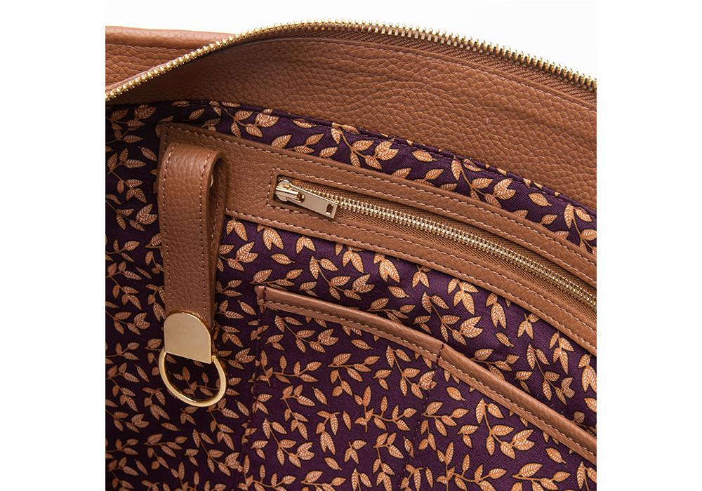 Camel Crush Shopper Interior