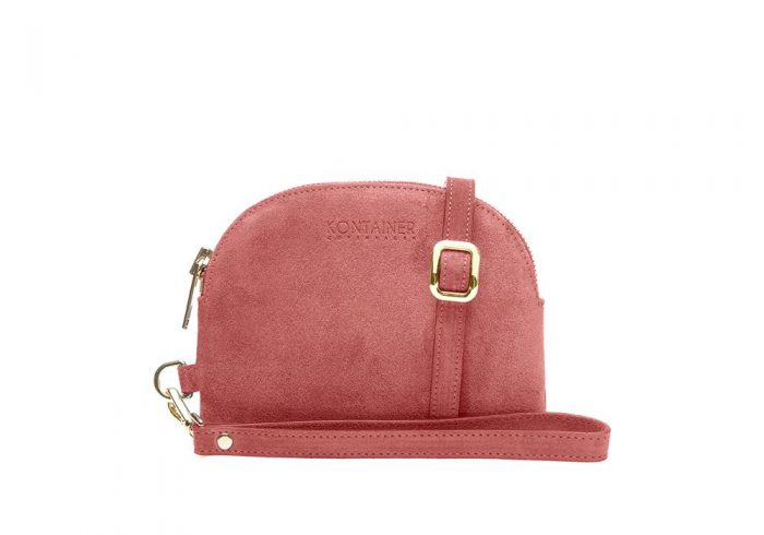 Coral Kiss Mini Clutch Front