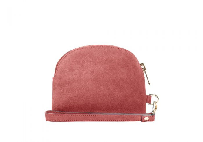 Coral Kiss Mini Clutch Back