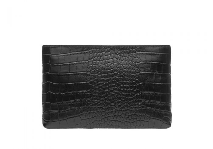Crocolicious Space Clutch Back