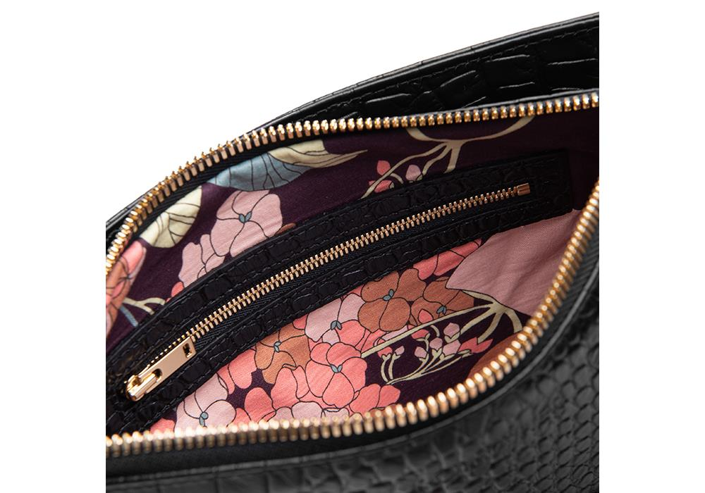 Crocolicious-Space-Clutch-Interior
