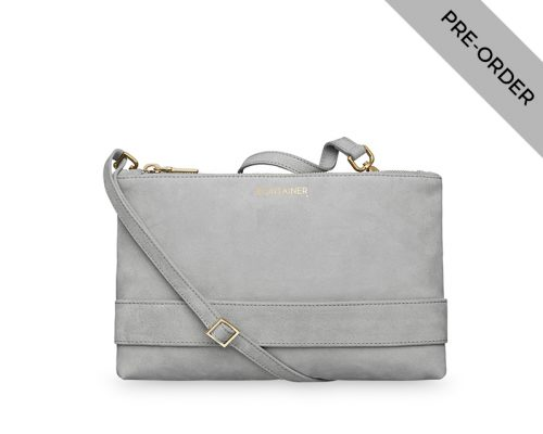Grey Shadow Clutch