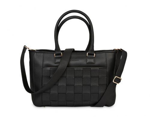 Black Love Shopper - This bag it's designed for you who needs a lot of space and a lot of functionality.