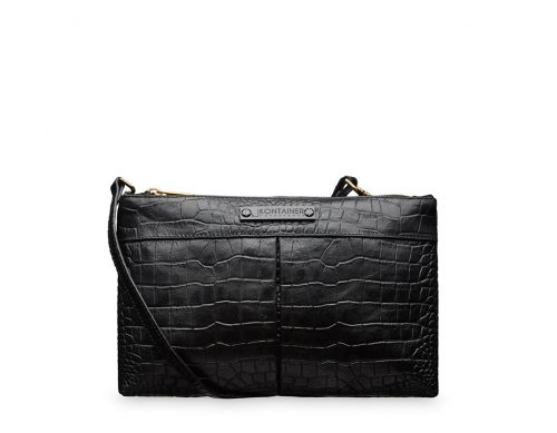 Crocolicious Square Clutch