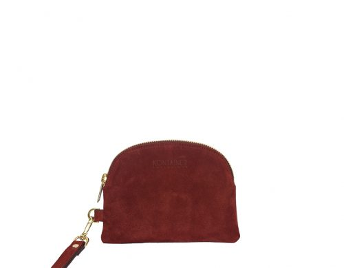 Red Blush Mini Clutch - An elegant choice to contain your necessities as phone, credit cards and cash – no matter if the occasion is daily use or a night out.