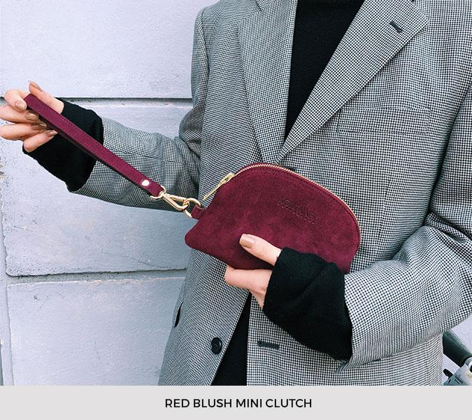 Kontainer Copenhagen - Red Blush Mini Clutch