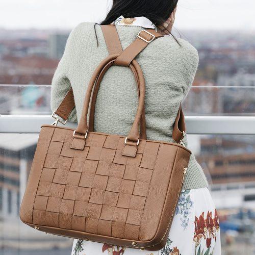 Kontainer Copenhagen Camel Crush Workbag