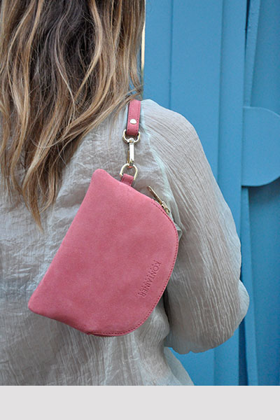 Kontainer Copenhagen - Coral Kiss Mini Clutch