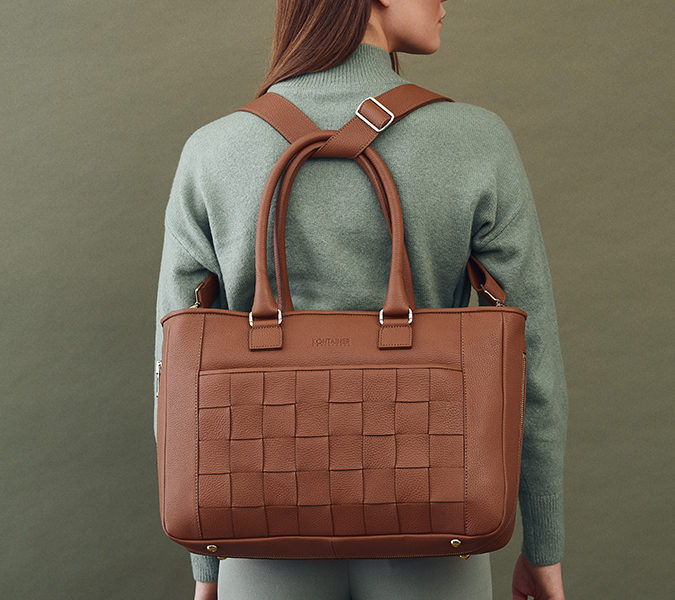 Kontainer Copenhagen - Camel Crush Shopper