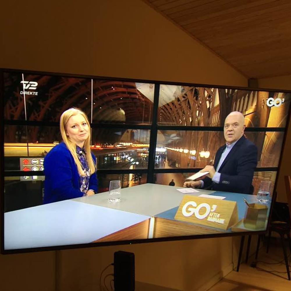 Go' Aften Danmark interview