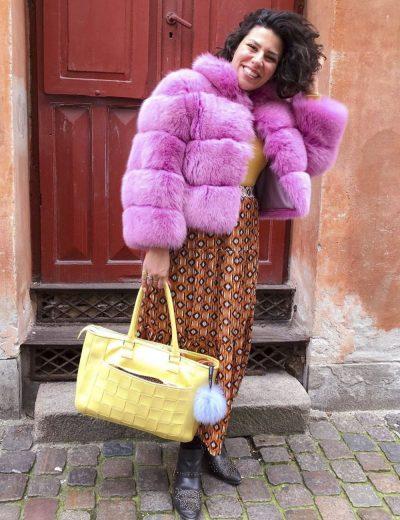 Jasmin Gabay Yellow Mellow Workbag