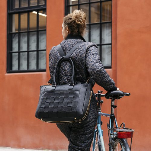 Kontainer Copenhagen Black Love Workbag
